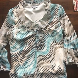 Large top from dress barn